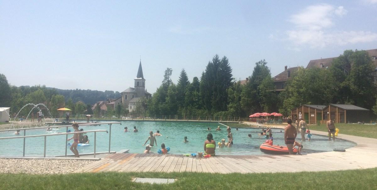 Une piscine naturelle en chartreuse rivier alp au gr for Piscine grenoble