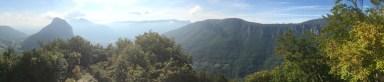 vue sur le néron depuis l'aiguille de Quaix en Chartreuse