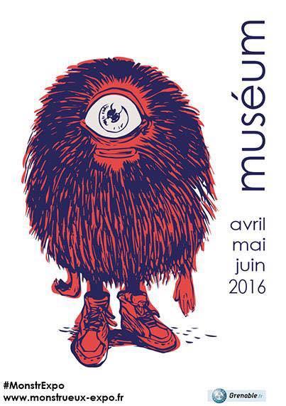 affiche monstre museum