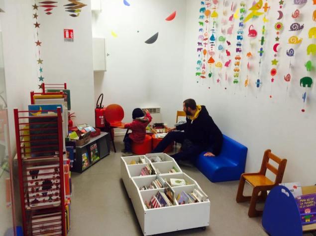 Bibliothèque Jardin de Ville