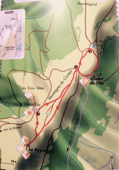 carte montagne du conest